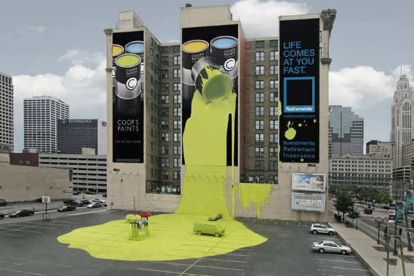 10. Coops Paint Nationwide Insurance