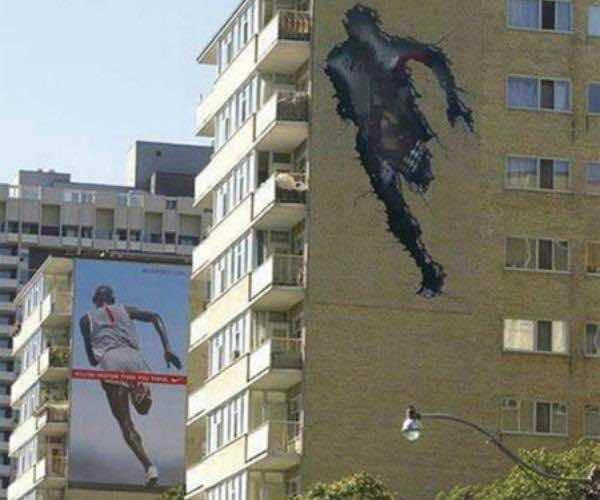2. Nike Run Through the Wall