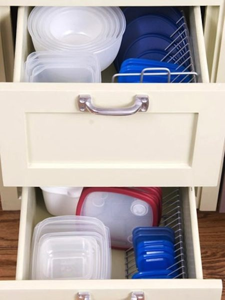 29. CD Rack Lid Storage