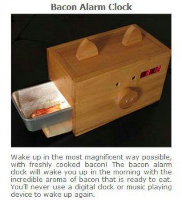 3. Bacon Alarm