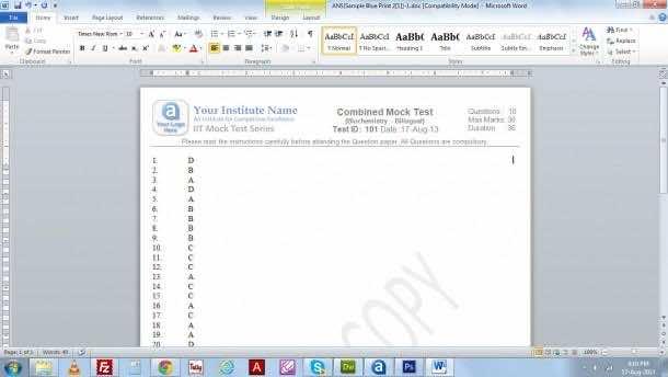 3. Check the Consecutive Answers