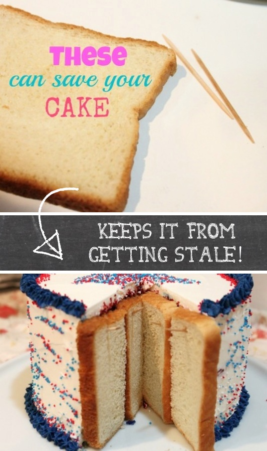 4. How to Store a Cake