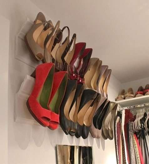 5. DIY Heel Wall Mount