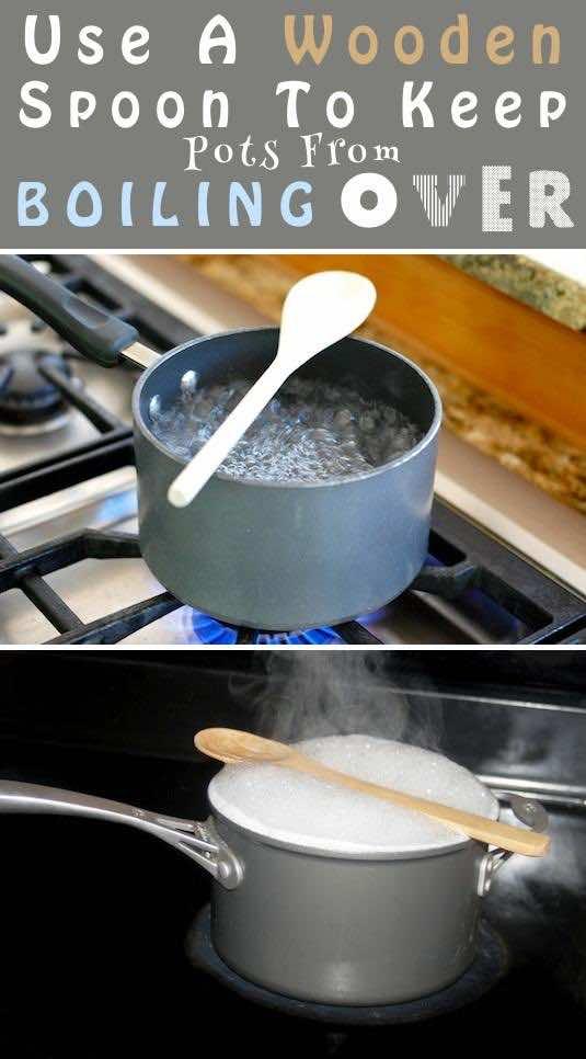 5. Wooden Spoon Trick