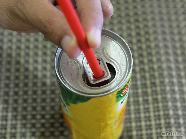 6. Soda Cans and Straws