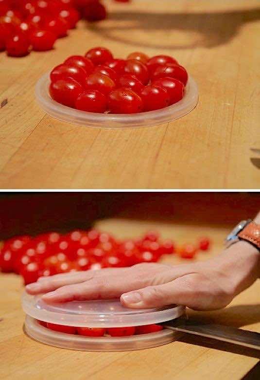 8. Cherry Tomato Hack