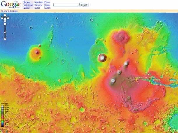 9. Google Mars