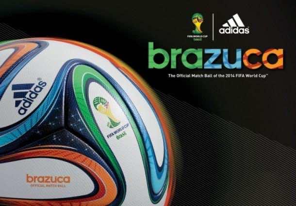 Adidas Brazuca Ball4