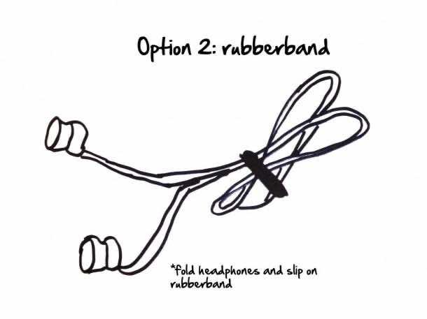 Earphones tangling 3