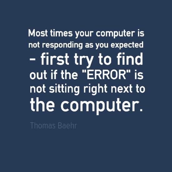 Engineering Quotes - Thomas Baehr