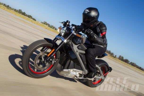 Harley Davidson Project LiveWire 6
