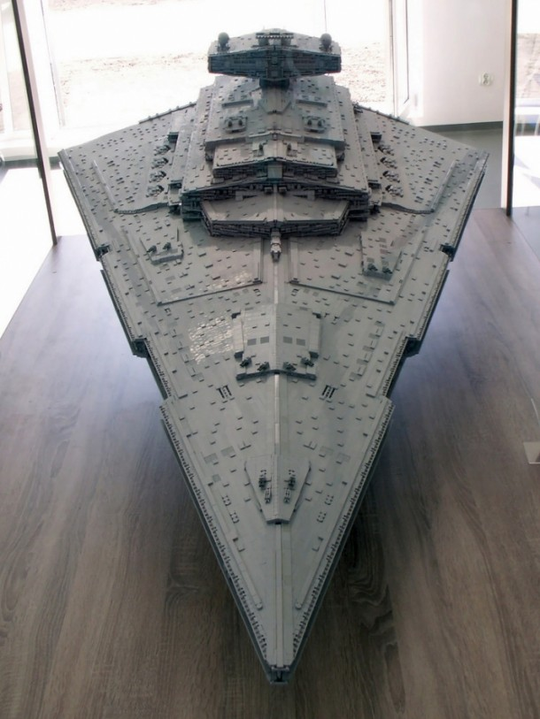 LEGO Star Destroyer – Flickr User Jerac