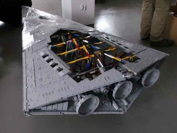 LEGO Star Destroyer – Flickr User Jerac10