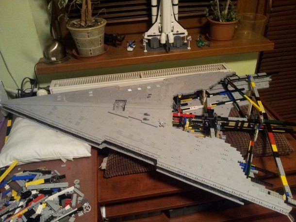 LEGO Star Destroyer – Flickr User Jerac5