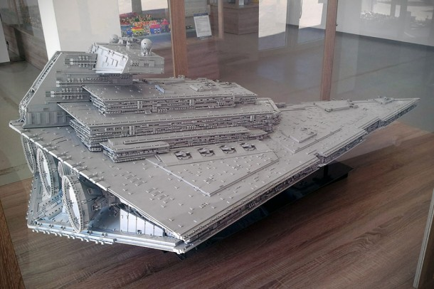 LEGO Star Destroyer – Flickr User Jerac8