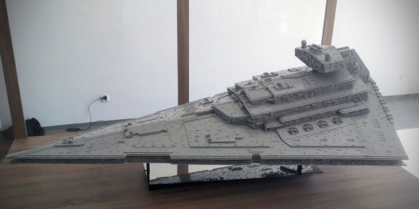 LEGO Star Destroyer – Flickr User Jerac9