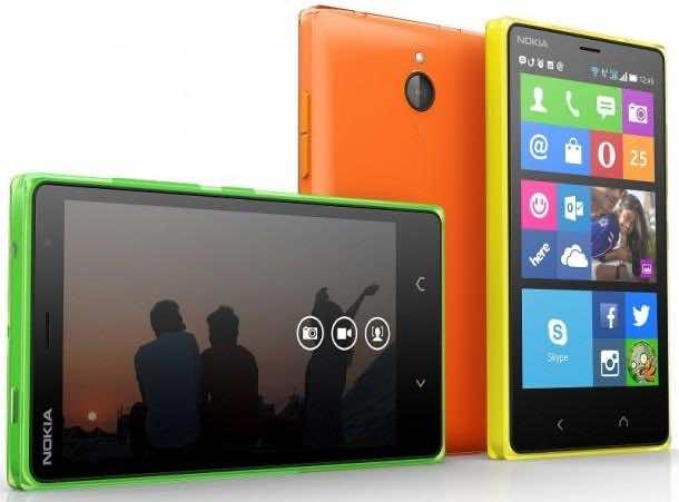 Micorosft Nokia X2