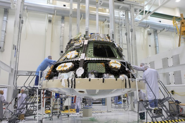 NASA's Orion Spacecraft 3