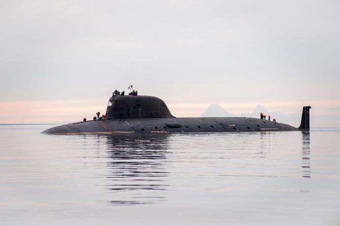 Russia's latest submarine