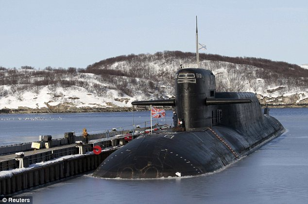 Severodvinsk nuclear submarines