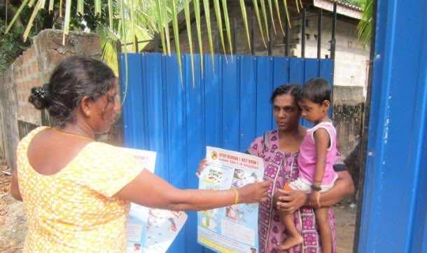 Sri Lankan Newspaper Mawbima fighting Dengue 5
