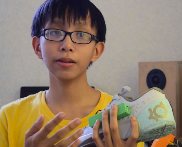 15 Year Old Kid Comes Up With A Shoe That Charges Your Gadgets While You Walk