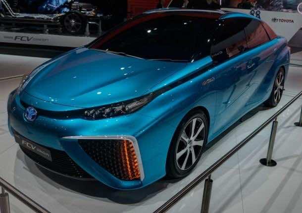 Toyota FCV 3