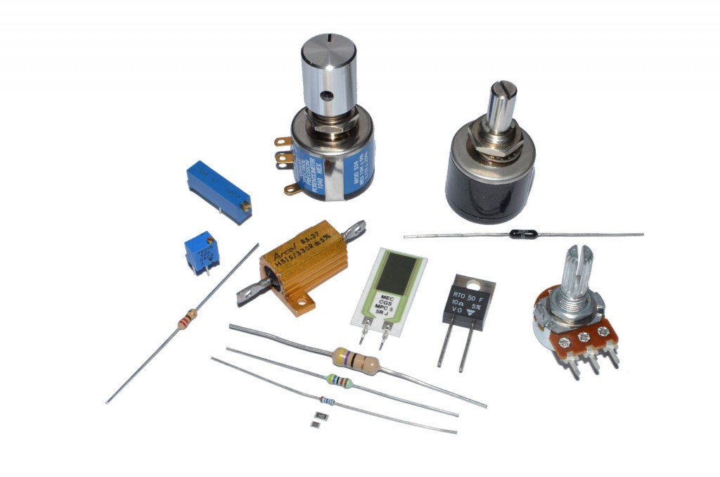 the different types of resistors 2-1: types of resistors the two main characteristics of a resistor are its show two different ways to wire a potentiometer so that it will work as a rheostat.