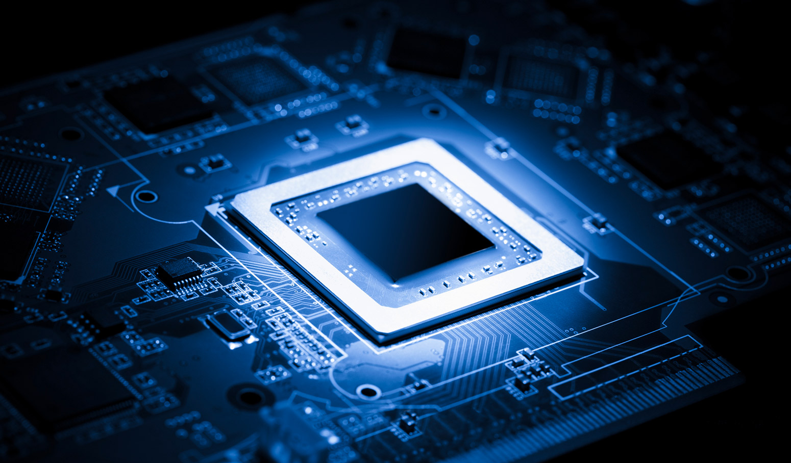 integrated circuit Integrated circuit (ic), electronic circuit built on a semiconductor semiconductor, solid material whose electrical conductivity at room temperature is between that of a conductor and that of an insulator (see conduction insulation.