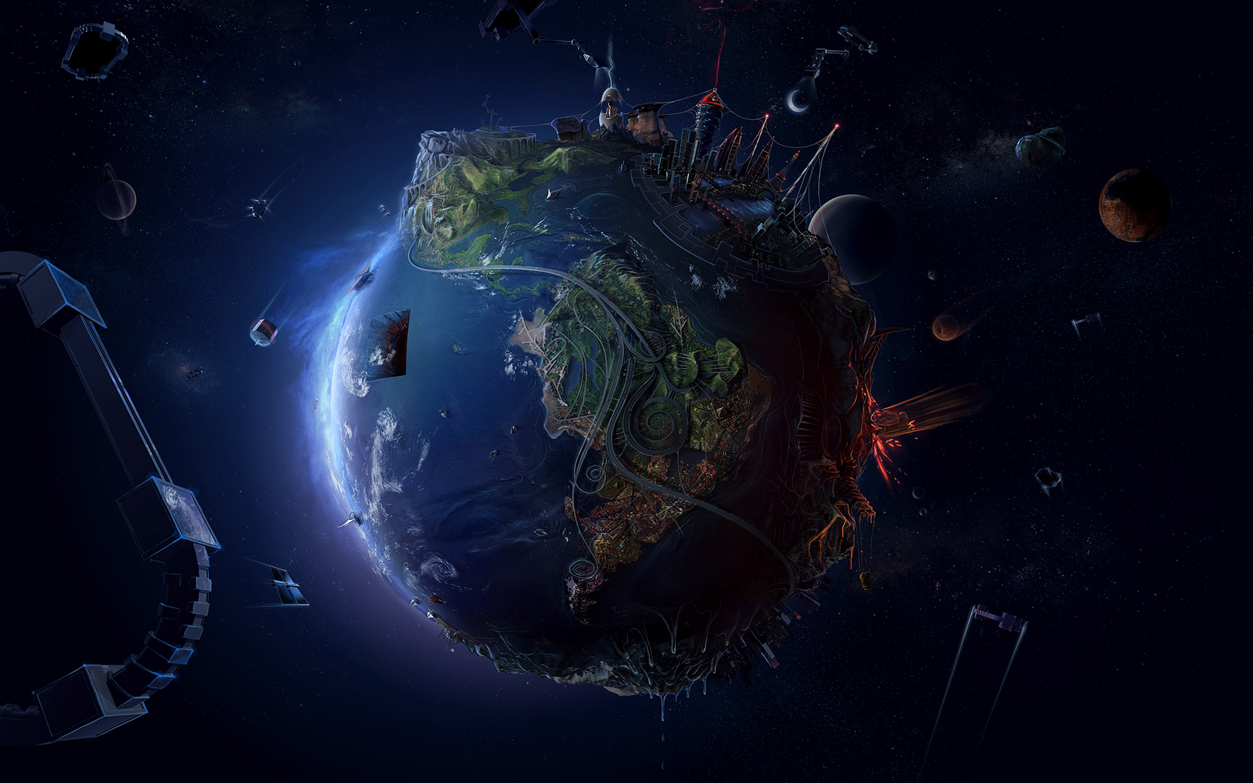 50 Earth Wallpapers In Full Hd For Free Download