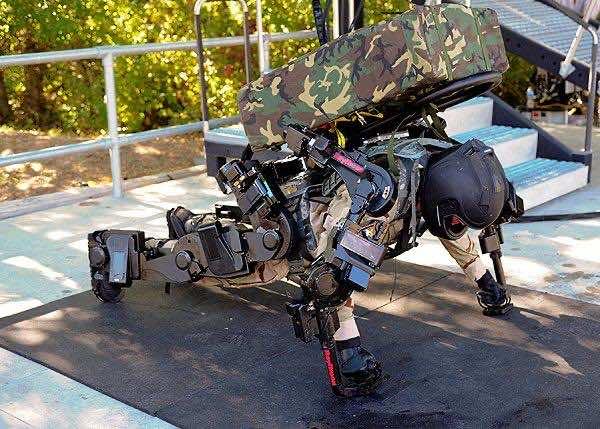 1. Army Exoskeleton