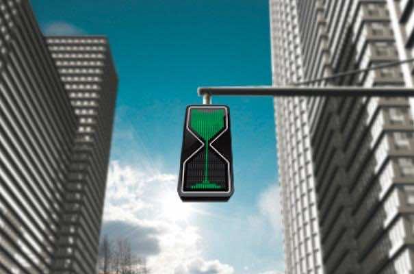 1. Hourglass Traffic Lights