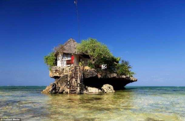 1. The Rock — Zanzibar, Africa