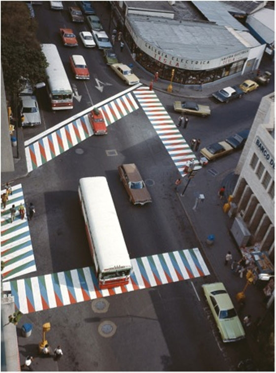 10. Additive color crosswalks by Carlos Cruz Diez2