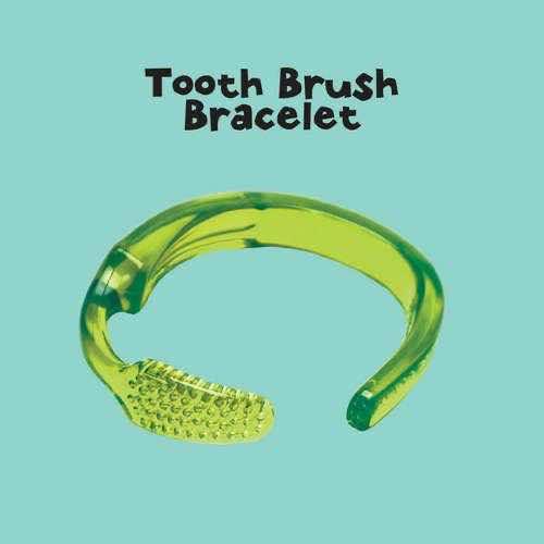 10. Toothbrush Bracelet