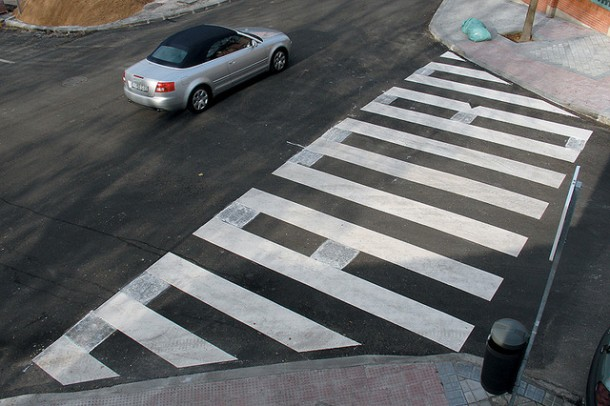 11. Mambo crosswalk in Madrid, Spain