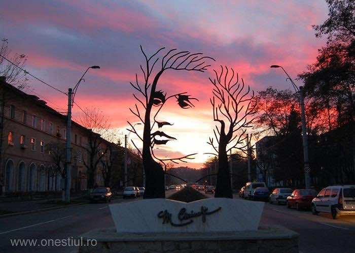 Mihai Eminescu-Sculpture