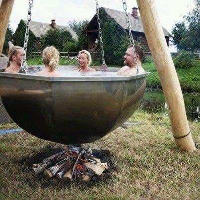 12. Hot Tub Swing