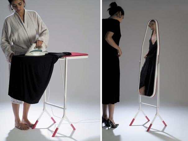 12. Ironing Board Mirror