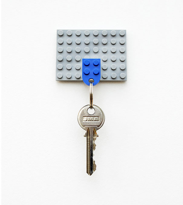 14. Lego Key Holder