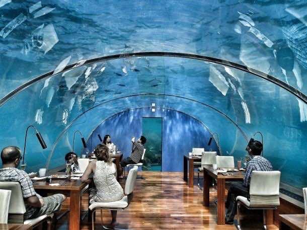 2. Ithaa Undersea — Rangali Island, Maldives