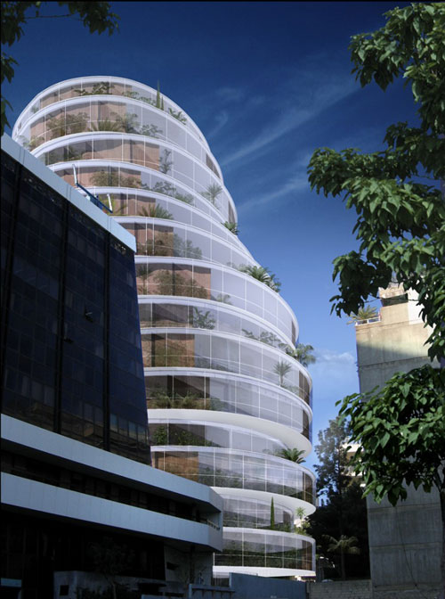 2. Y Building, Beirut, Lebanon