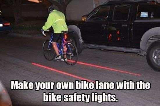 20. Laser Bike Lane
