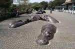 Hippo-Sculpture