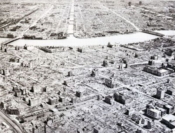 5 Tokyo, Japan 1945