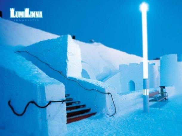 5. LumiLinna Snow Castle Restaurant — Kemi, Finland