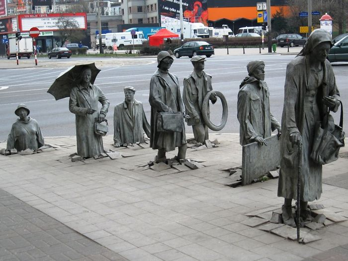 Passer-by-Sculpture