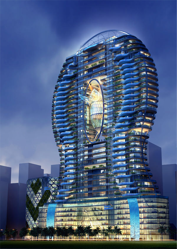 6. Bandra Ohm Residential Tower, Mumbai, India