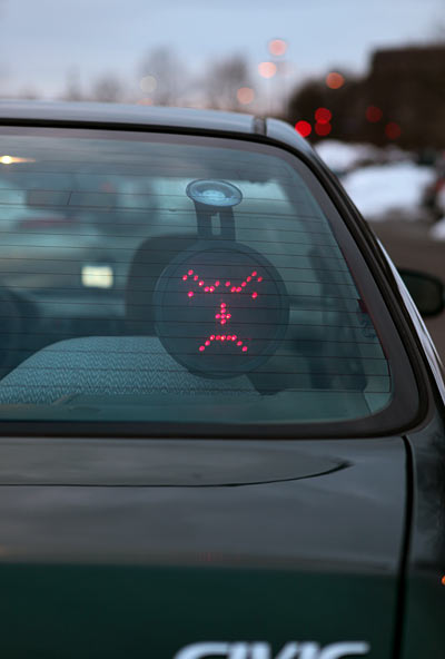 6. Drivemotion LED Car Sign