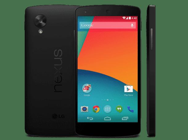 6. Google Nexus 5